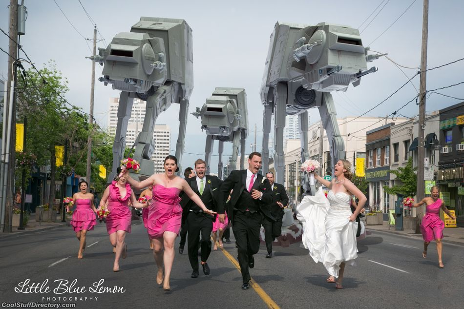 The New Hilarious Trend For Wedding Photos