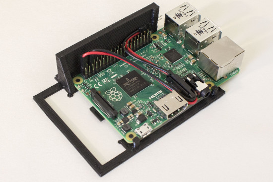 Case hot swap para Raspberry Pi
