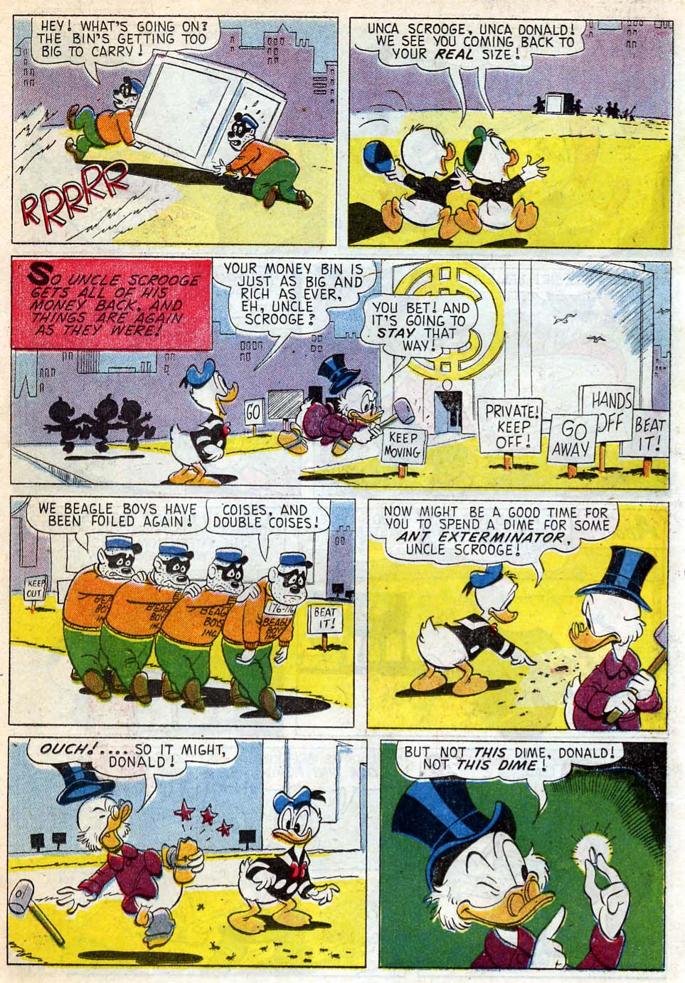 Uncle Scrooge (1953) Issue #33 #33 - English 18