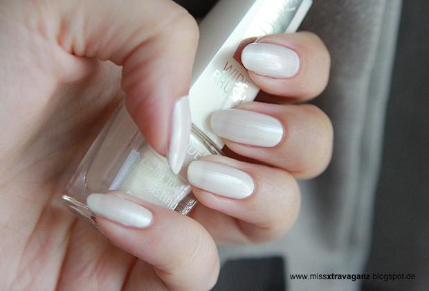 nagellack isadora 649 glamour white miss von xtravaganz lifestyle beautyblog. Black Bedroom Furniture Sets. Home Design Ideas