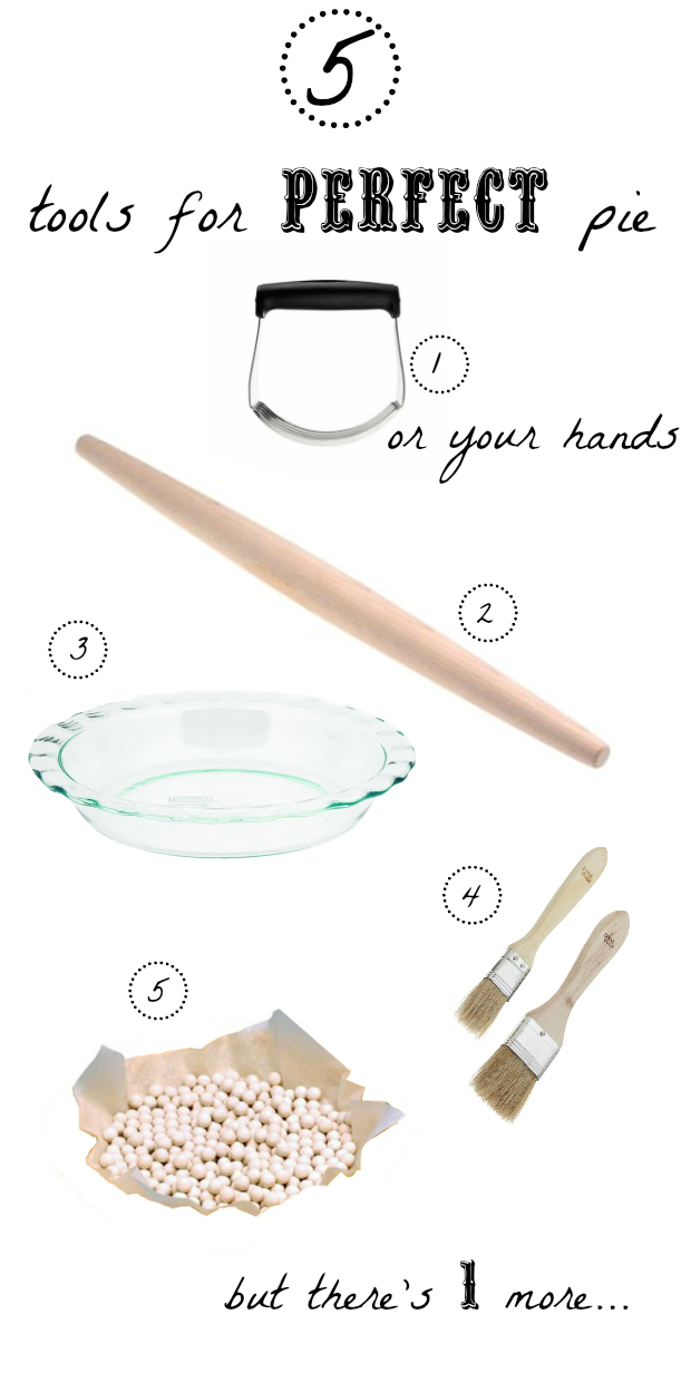 5 tools for making a pie + my secret weapon | http://kitchenhealssoul.blogspot.com/
