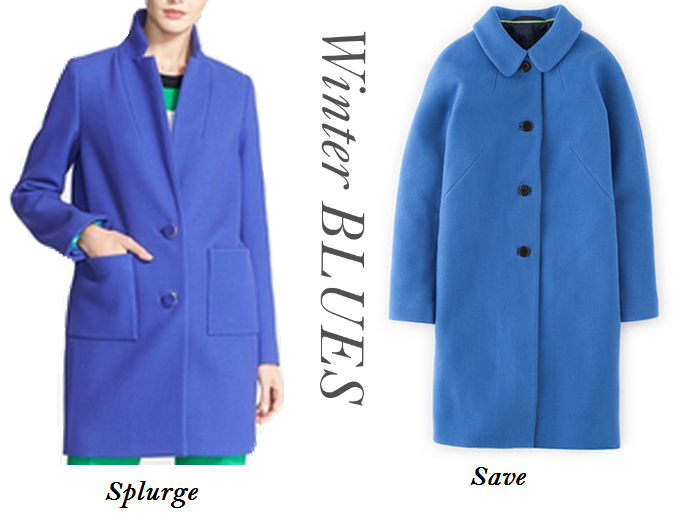 Blue Coats, Cobalt Coats, Kate Spade Blue Coat, Boden Blue Coat, Top Fall Fashion Trends
