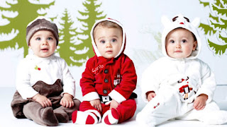 Model Baju Kostum Natal Bayi Lucu