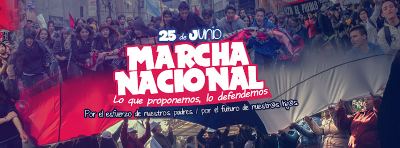 25 DE JUNIO MARCHA NACIONAL