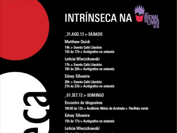 Editora Intrínseca na XVI Bienal do Livro Rio