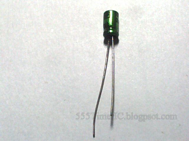 capacitor leg long