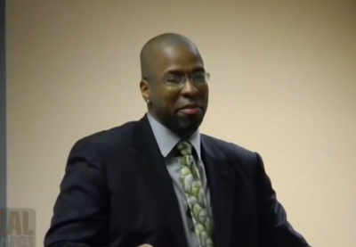 Ex-CIA Agent Jeffrey Sterling. (Screen capture from YouTube video)