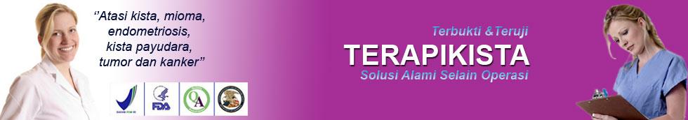 Obat Kista  dan Mioma :  Terapi Kista , Mioma, Endometriosis SELAIN OPERASI