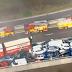 Choque en cadena de 100 vehículos en el Reino Unido se salda con 200 heridos