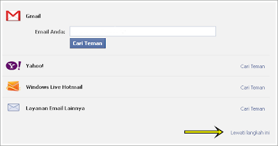 step 2 create facebook account