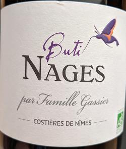 Notre vin de la semaine est ce très bon rouge des Costières de Nîmes !