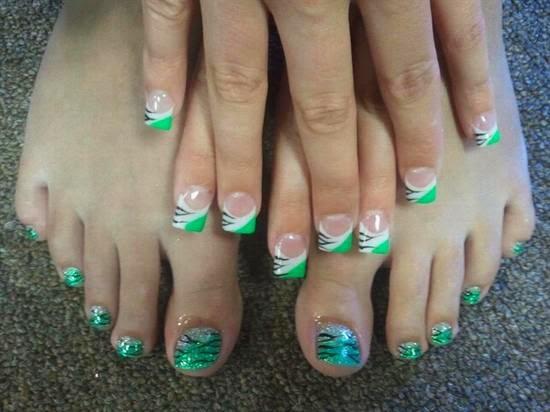 Nail Art Design 2014 Wonderful Toe Nails Designs