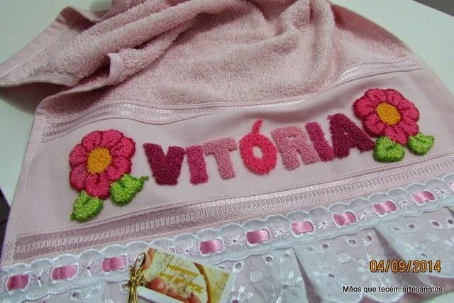 Aparador Para Sala Pequena ~ Blog da Bete Artesanatos Toalha de Boca Personalizada com Bordado Russo