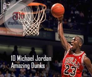 Top 10 All-Time Michael Jordan Amazing Dunks