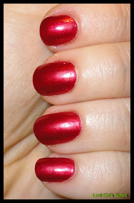 OPi affair in red square swatch