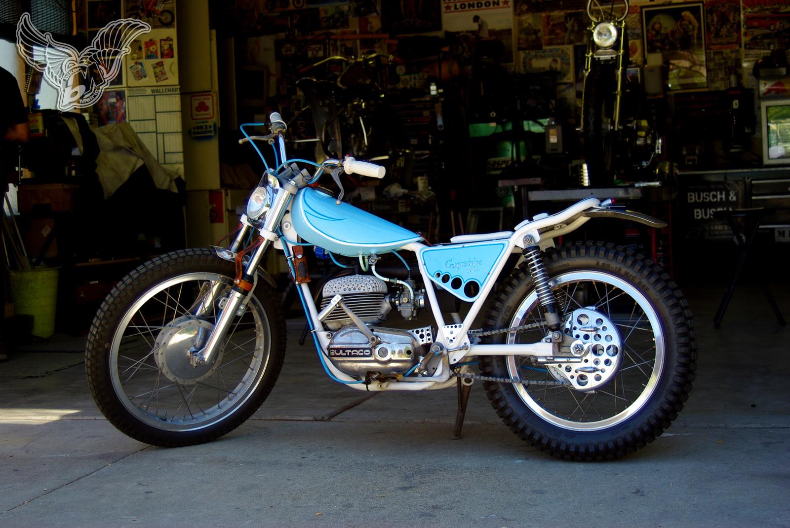 bultaco matador 250cc enduro tracker | busch & busch