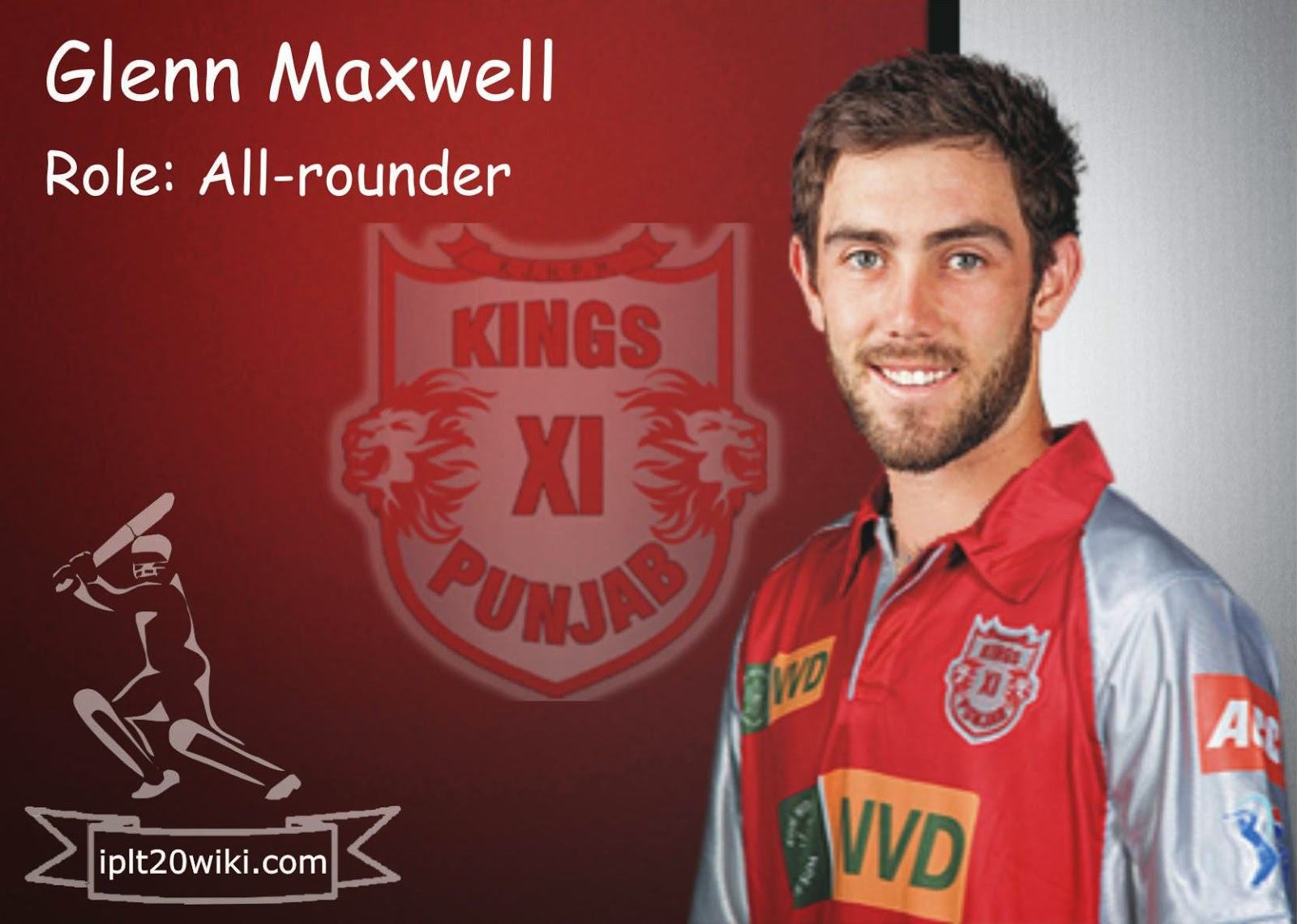 glenn maxwell Glenn maxwell is a known name in the world of cricket, his ability to hit the toughest ball for a boundary and his capability of spinning the ball are some of the innocuous reasons why people adore this cricketer too much.