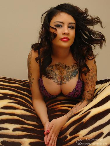 sexy girls tattoos. sexy girl body full of tattoos