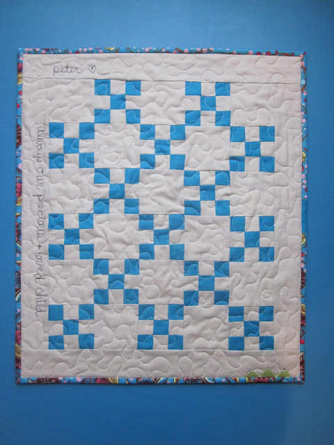 mini quilt irish chain