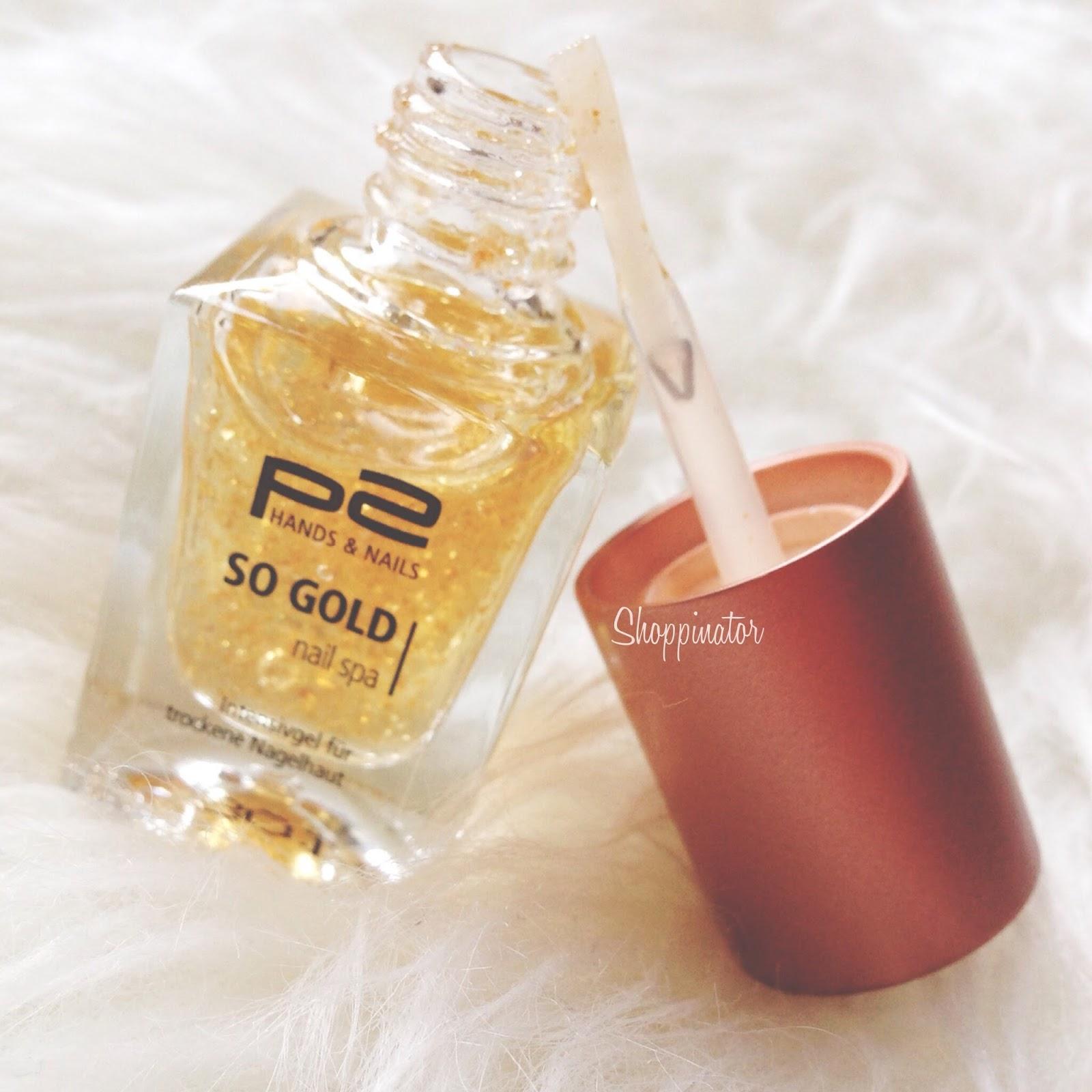 P2 'So Gold' Nail Spa Nagelgel – Review