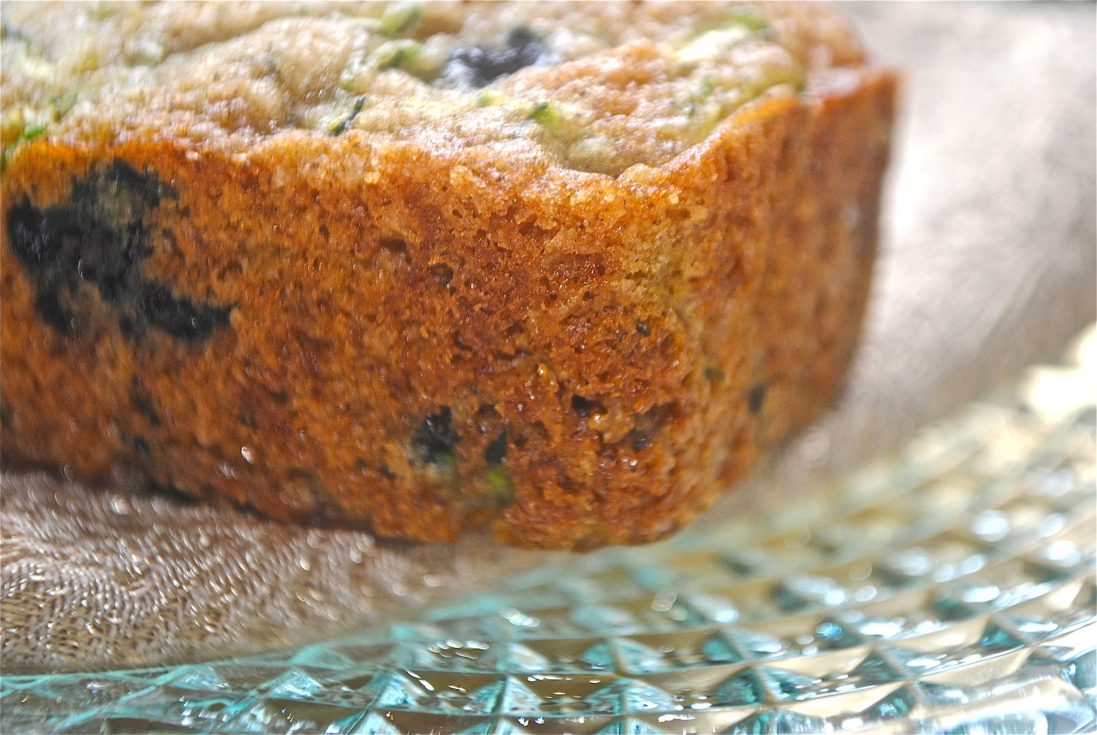 Recipe Doodle: BLUEBERRY ZUCCHINI BREAD
