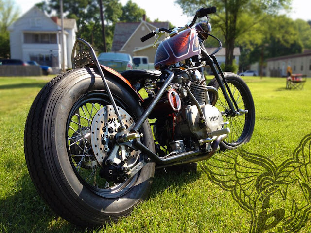 xs650chopper - rear | jason sallade