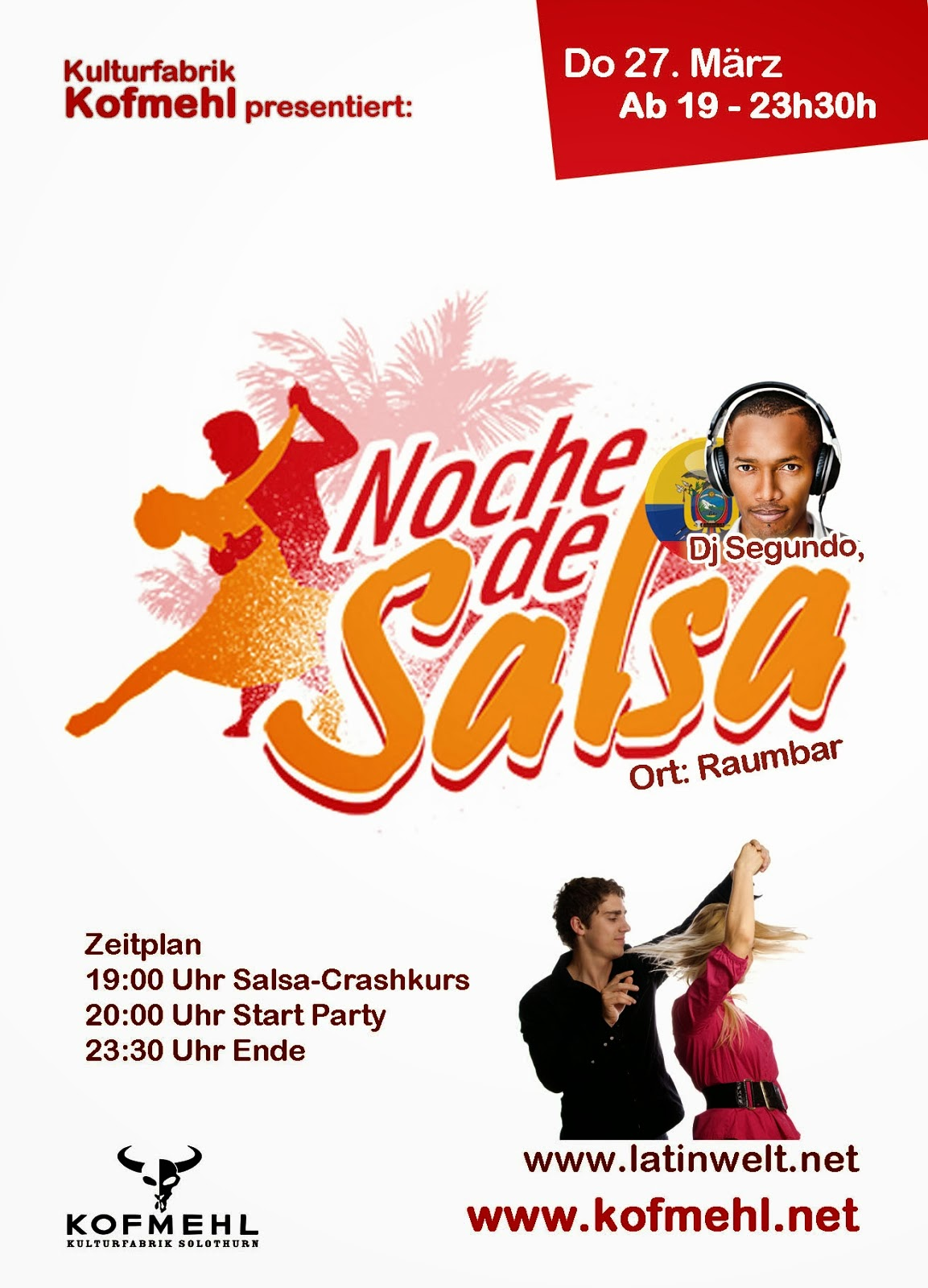 SA 27. März - Party - Solothurn