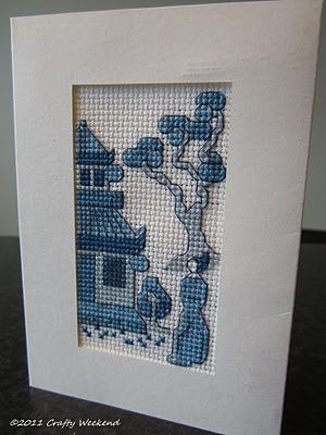 cross stitch cards pattern