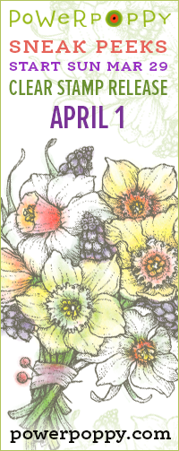 Fresh Flowery Stamps!