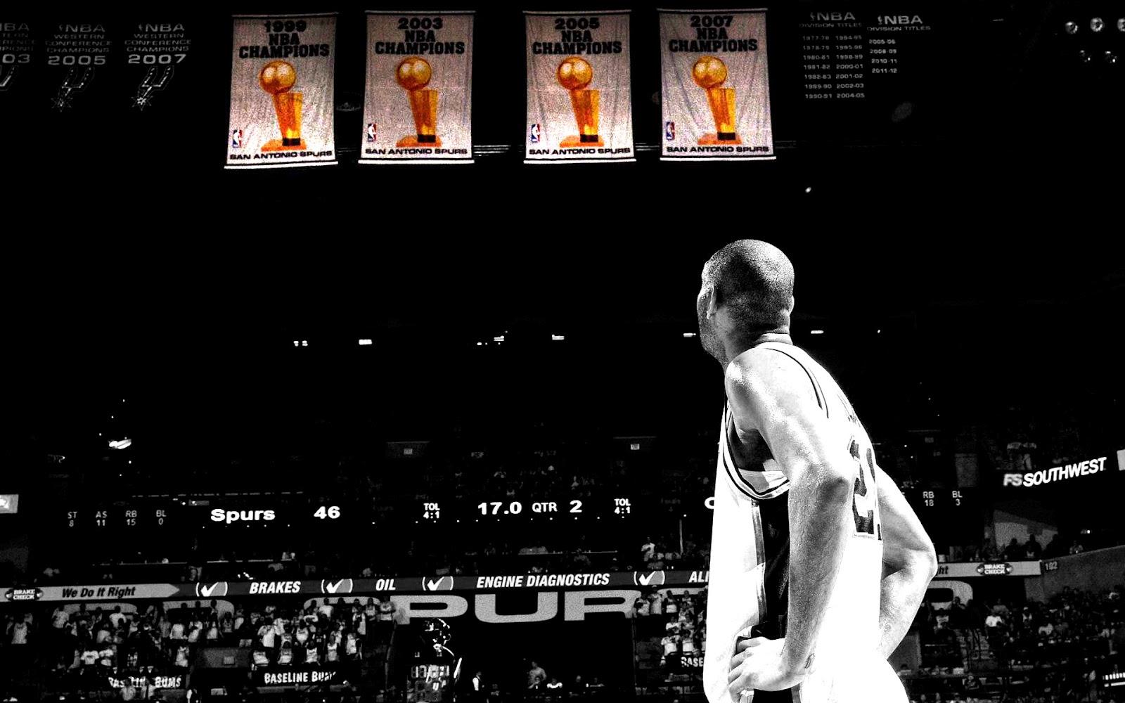 Tim Duncan Spurs Championship Banners 1920x1200 Wallpaper ...
