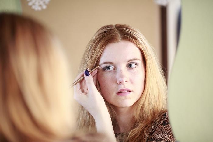 eyebrow pencil, tužka na obočí, lucie srbová, módní blogerka