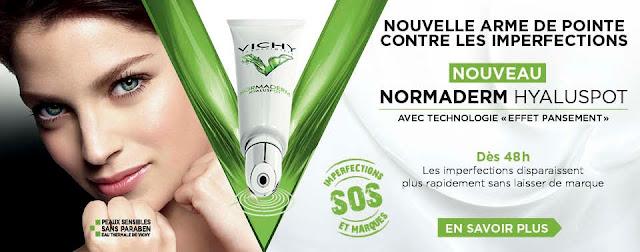 Hyaluspot Normaderm de Vichy