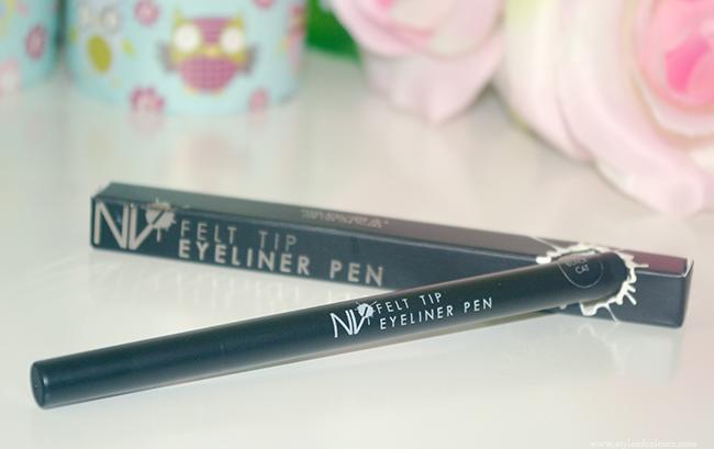 NV Black Cat Felt Tip Eyeliner Pen Review