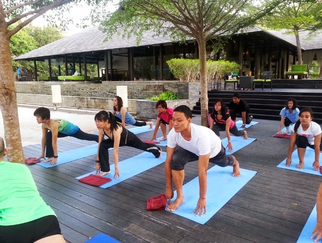 yoga class, yoga by the beach, Westin Well Being Movement, Feel Well, Work Well, Move Well, Eat Well, Sleep Well, Play Well, Westin Workout, run Westin, westin kl, westin langkawi, SuperFoodsRx, jing tea, Heavenly Spa, heavenly bed,