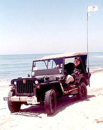 Paul in 1944 DDAY JP at San Onofre on June 6