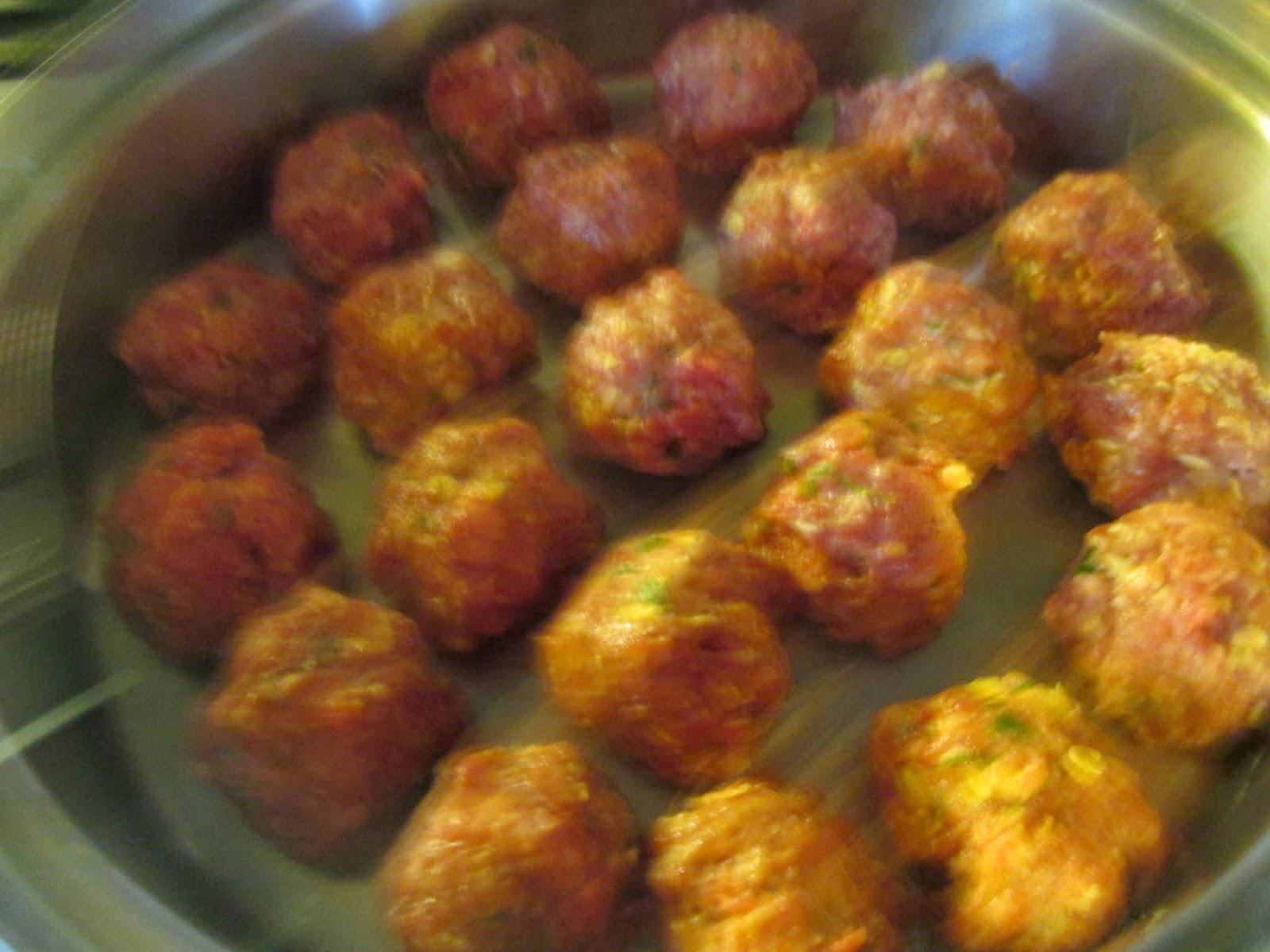 how to make big meatballs