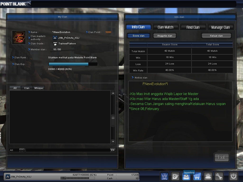 download cheat point blank senjata banyak