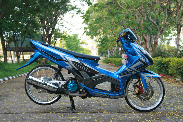 Foto Modifikasi Motor Rx King Ceper