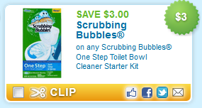 Scrubbing Bubbles One Step Toilet kit