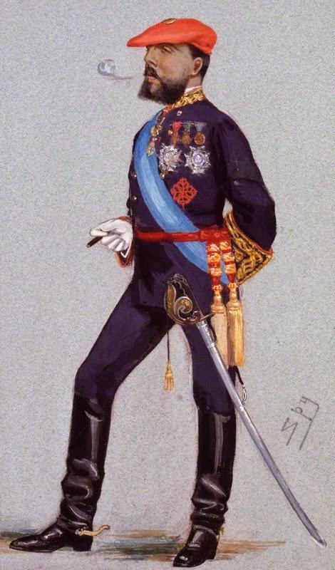 Orden Calatrava: Don Carlos (Caricatura)