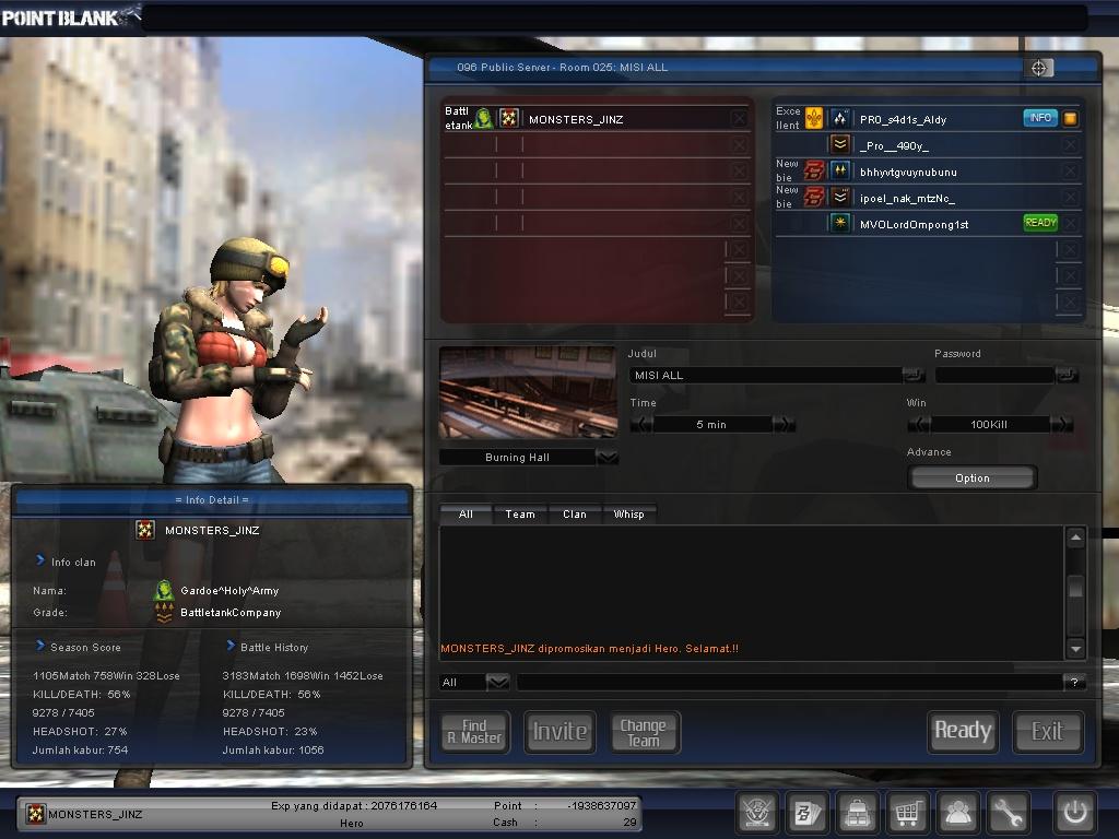 Screenshot Point Blank