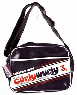 Curly Wurly 70s Messenger Bag