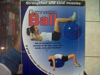 Jual bola fitness murah