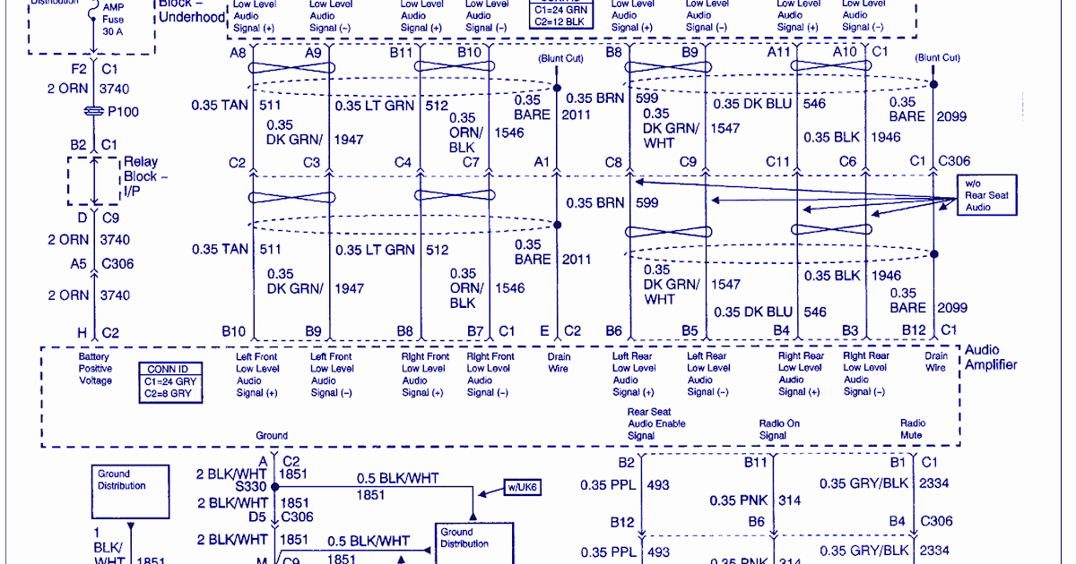 wiring diagram info 2003 gmc 1500 audio amplifier wiring diagram