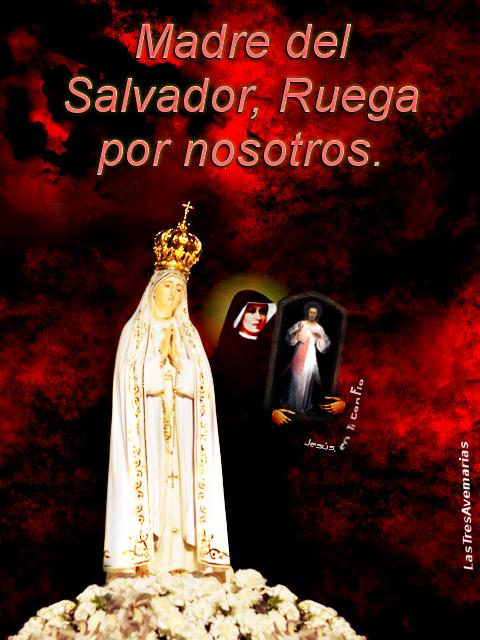 Santa Maria Madre del Salvador Ruega por nosotros,