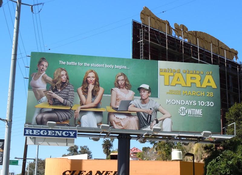 United States of Tara season 3 billboard