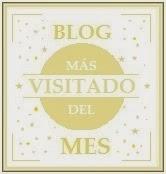 Premio Blog Más Visitado del Mes