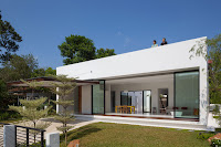 Modelo de casa de un piso de estilo