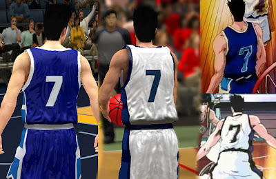 Slam Dunk 2K13 Team Ryonan Jersey Patch