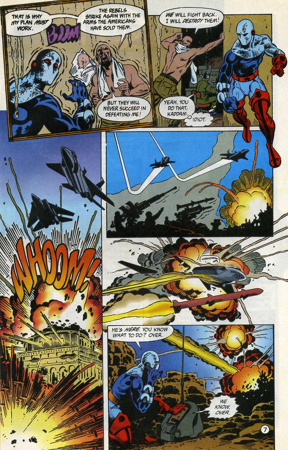 Deathstroke (1991) Issue #3 #8 - English 9